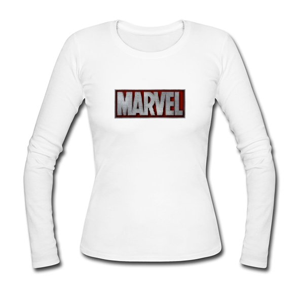 Женский лонгслив Marvel 3D