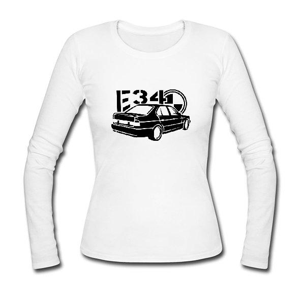 Женский лонгслив BMW E34