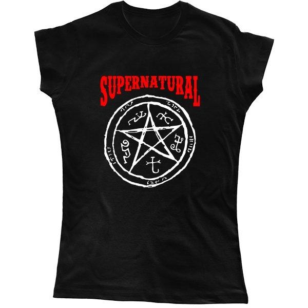 Женская футболка Supernatural