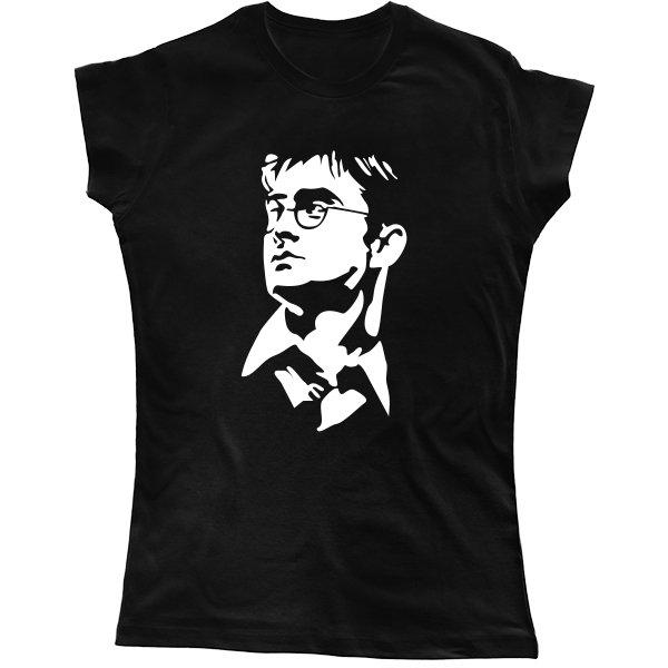 Женская футболка Гарри Поттер