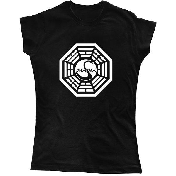 Женская футболка Dharma