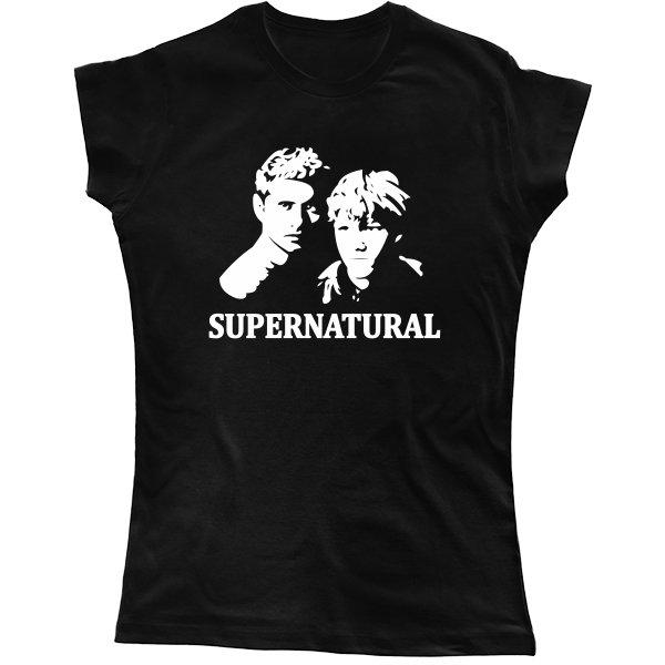 Женская футболка Supernatural Лица