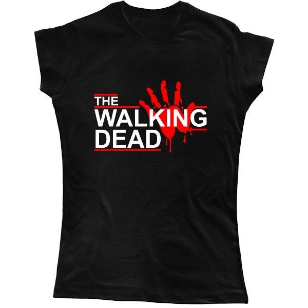 Женская футболка Walking Dead