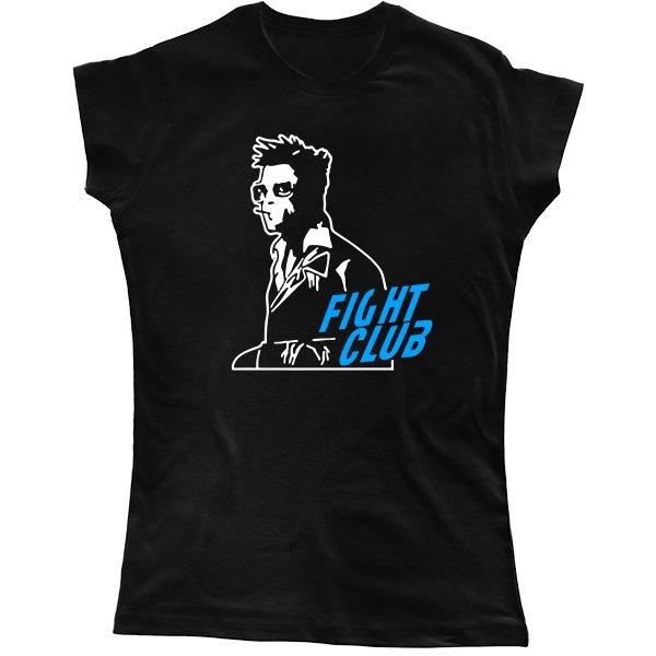 Женская футболка Бойцовский Клуб