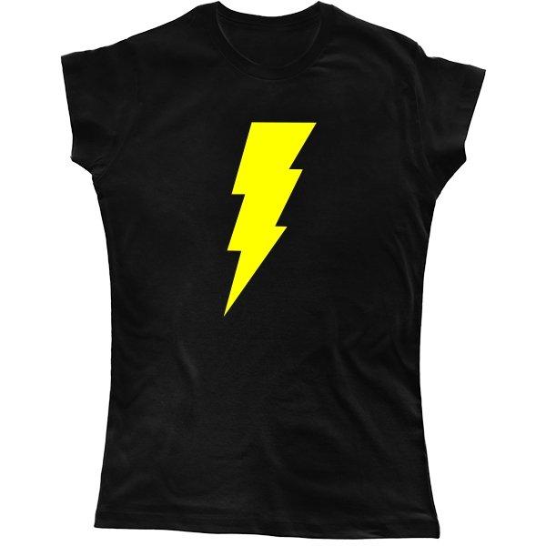 Женская футболка Молния Шелдона