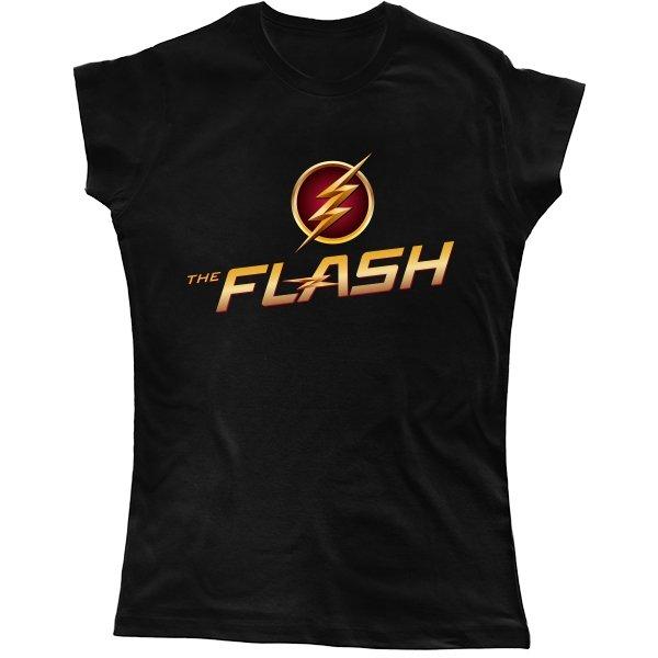 Женская футболка Flash