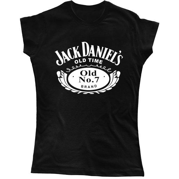 Женская футболка Jack Daniels old time