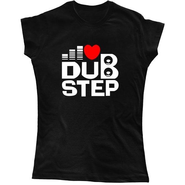 Женская футболка Dub Step