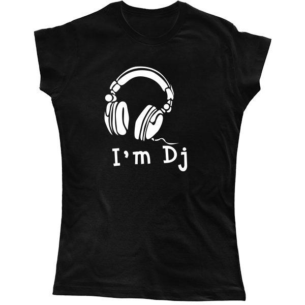 Женская футболка Я Диджей