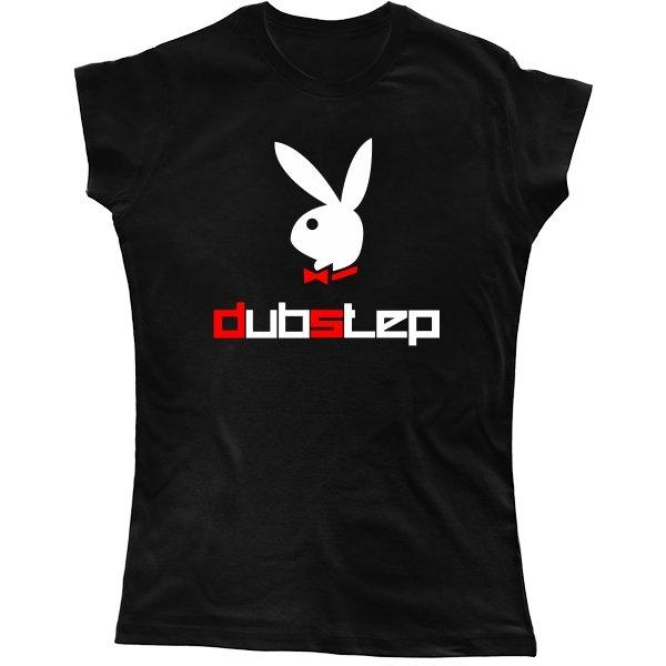 Женская футболка Плэйбой Dubpstep