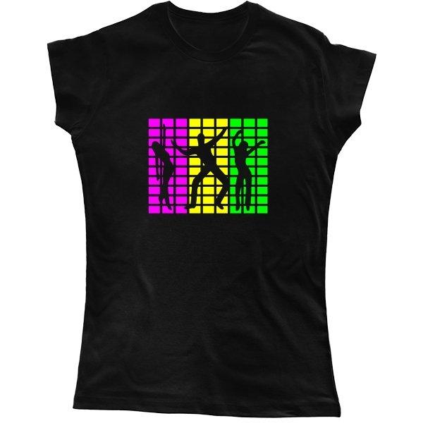Женская футболка Electro Dance