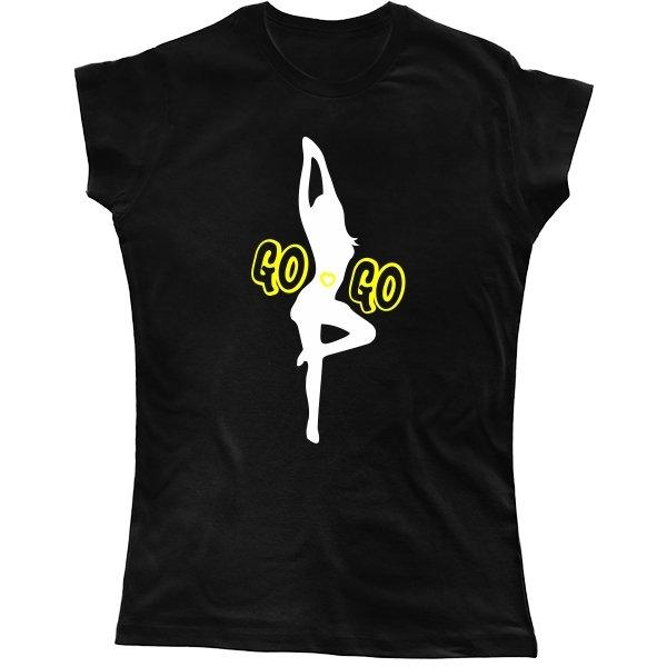 Женская футболка Go Go