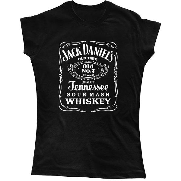 Женская футболка Jack Daniels