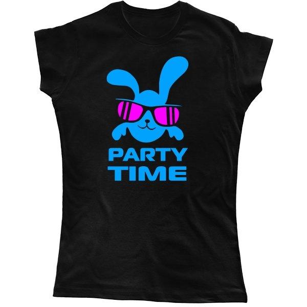Женская футболка Время Вечеринки