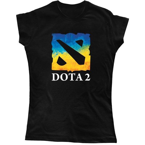 Женская футболка Dota 2 Ukraine Team