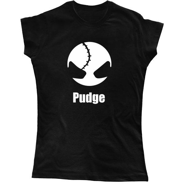 Женская футболка Pudge