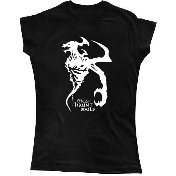 Женская футболка Nevermore Dota 2