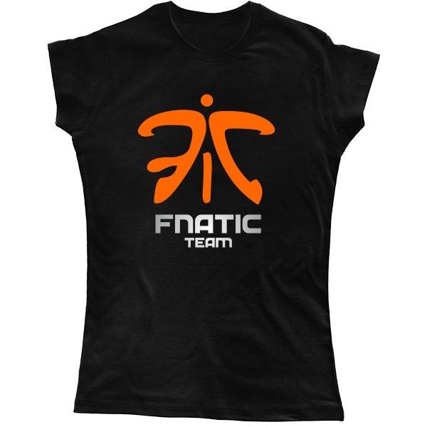 Женская футболка Fnatic Dota 2