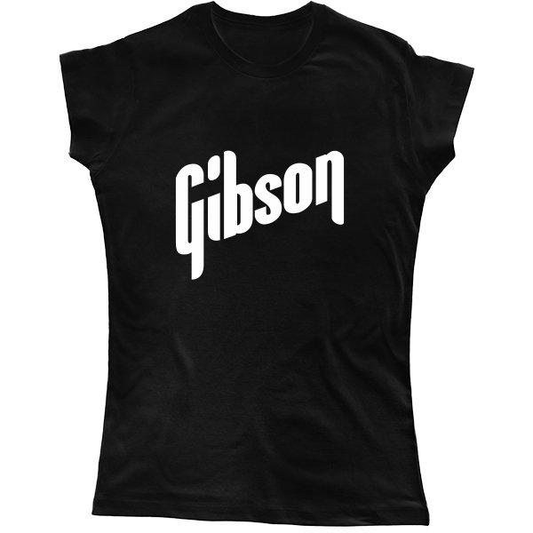 Женская футболка Gibson