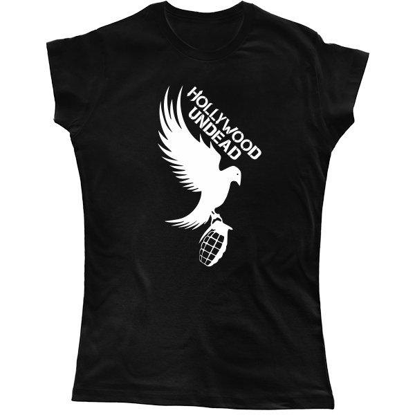 Женская футболка Hollywood Undead