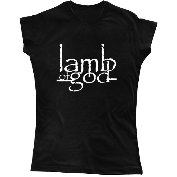 Женская футболка Lamb of God