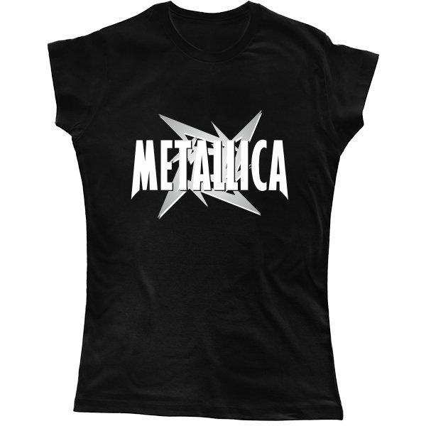 Женская футболка Metallica logo