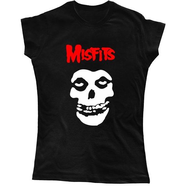 Женская футболка Мисфитс