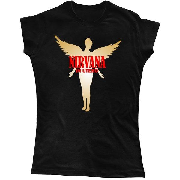 Женская футболка Nirvana in Utero