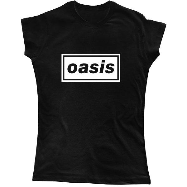 Женская футболка Oasis