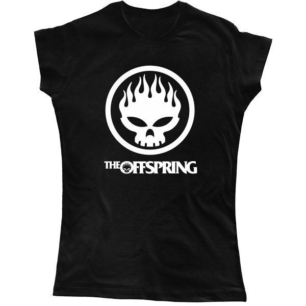 Женская футболка Offspring
