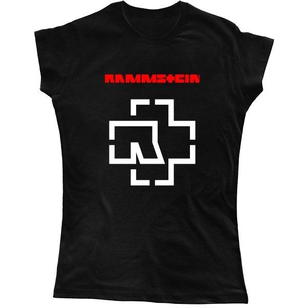 Женская футболка Rammstein