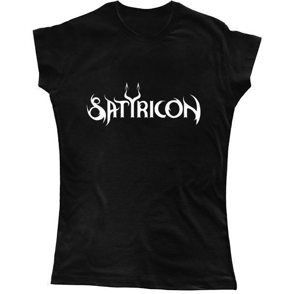 Женская футболка Satyricon