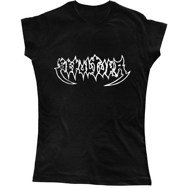 Женская футболка Sepultura