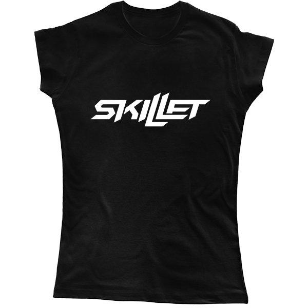 Женская футболка Skillet