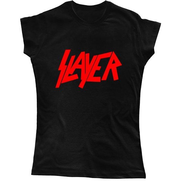 Женская футболка Slayer