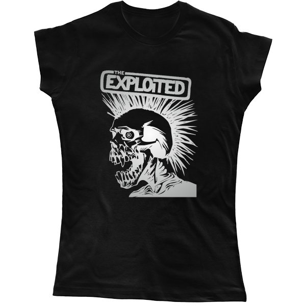 Женская футболка The Exploited
