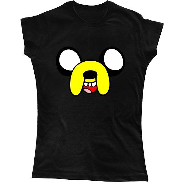 Женская футболка Мордочка Джейка