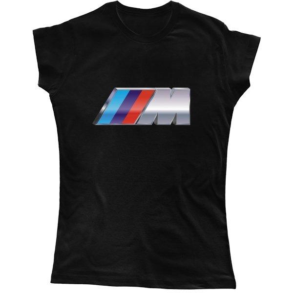 Женская футболка BMW M 3D