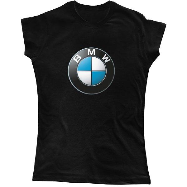 Женская футболка Логотип БМВ