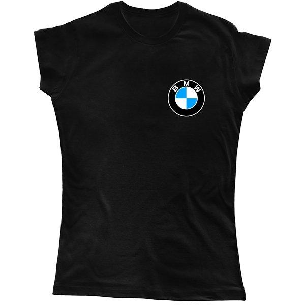 Женская футболка БМВ мини