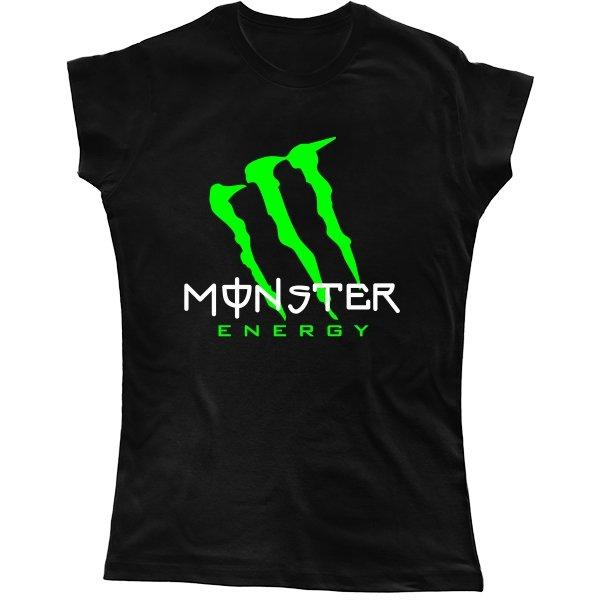 Женская футболка Monster Energy