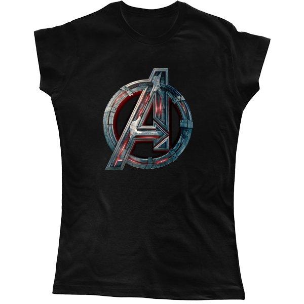 Женская футболка Знак Капитана Америки