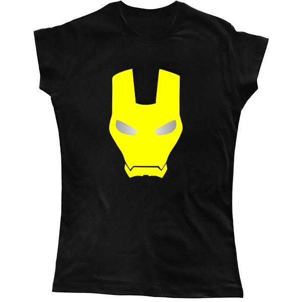 Женская футболка Железный Человек