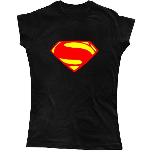 Женская футболка Superman new