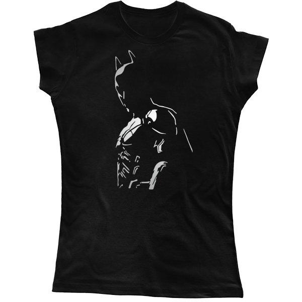 Женская футболка с Бэтменом