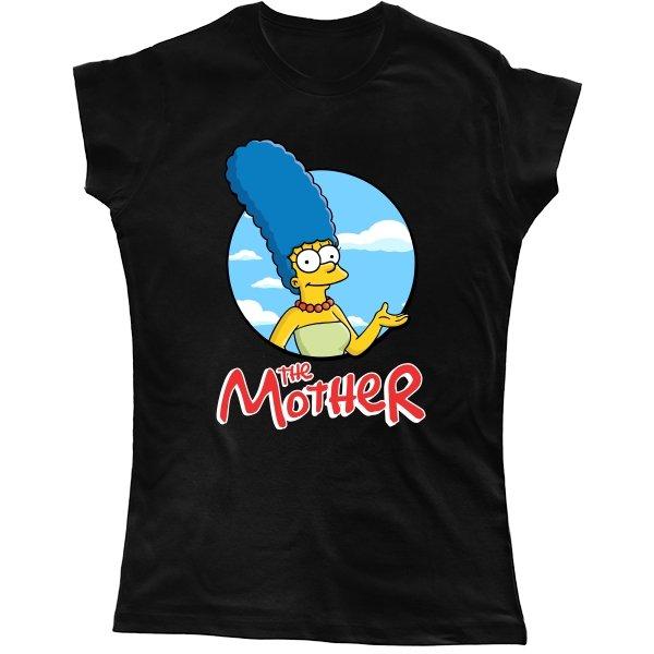 Женская футболка Мама (Симпсоны)