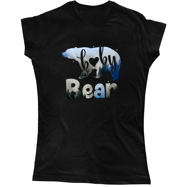 Женская футболка Baby Bear
