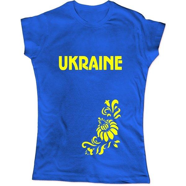 Женская футболка Символика Ukraine