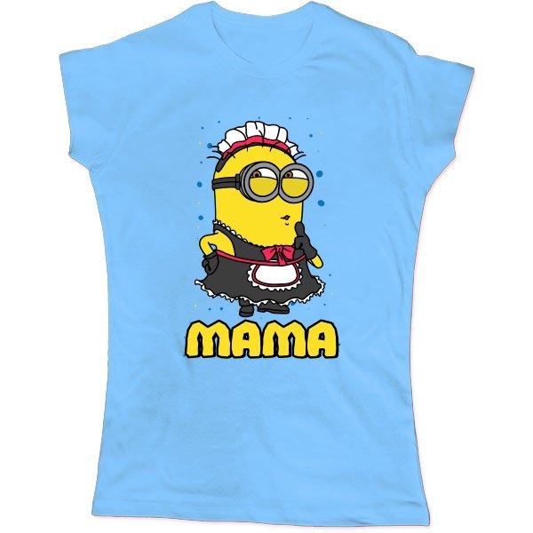 Женская футболка Мама Миньон