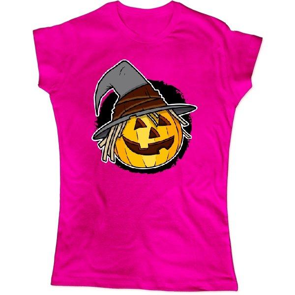 Женская футболка Тыква - голова